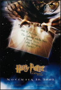 """Harry Potter and the Sorcerer's Stone (Warner Brothers, 2001). One Sheet (27"""" X 40"""") DS Advance Style A. Fanta..."""