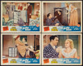 """Movie Posters:Comedy, One Thrilling Night (Monogram, 1942). Lobby Cards (4) (11"""" X 14"""").Comedy.. ... (Total: 4 Items)"""