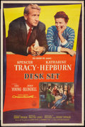 """Movie Posters:Comedy, Desk Set (20th Century Fox, 1957). Poster (40"""" X 60"""") Style Y.Comedy .. ..."""