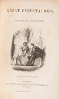 Books:Fiction, Charles Dickens. Great Expectations. London: Chapman andHall, 1862. A New Edition, in One Volume. Octavo. [vi],...