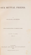 Books:First Editions, Charles Dickens. Our Mutual Friend. London: Chapman andHall, 1865. First edition. Two volumes. 320; 309 pages. Publ...(Total: 2 Items)