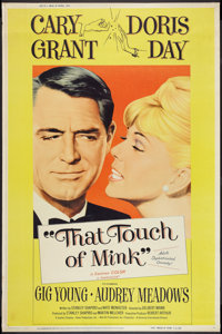 "That Touch of Mink (Universal, 1962). Poster (40"" X 60"") Style Y. Comedy"