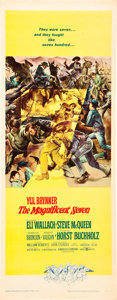 "Movie Posters:Western, The Magnificent Seven (United Artists, 1960). Insert (14"" X 36"").. ..."