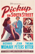 "Movie Posters:Film Noir, Pickup on South Street (20th Century Fox, 1953). One Sheet (27"" X41"").. ..."