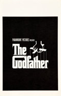 "Movie Posters:Crime, The Godfather (Paramount, 1972). Window Card (14.25"" X 22.5"").. ..."
