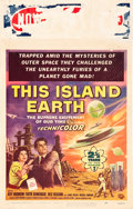 """Movie Posters:Science Fiction, This Island Earth (Universal International, 1955). Window Card (14""""X 22"""").. ..."""