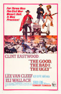 "Movie Posters:Western, The Good, the Bad and the Ugly (United Artists, 1968). One Sheet (27"" X 41"").. ..."