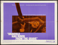 "Dracula Has Risen From the Grave (Warner Brothers, 1969). Half Sheet (22"" X 28""). Horror"
