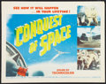 "Movie Posters:Science Fiction, Conquest of Space (Paramount, 1955). Half Sheet (22"" X 28"").Science Fiction.. ..."