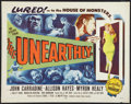 "Movie Posters:Science Fiction, The Unearthly (Republic, 1957). Half Sheet (22"" X 28""). ScienceFiction.. ..."
