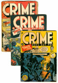 Golden Age (1938-1955):Crime, Crime Does Not Pay #27, 28, and 41 Group (Lev Gleason, 1943-45).... (Total: 3 Comic Books)