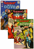 Silver Age (1956-1969):Superhero, Hawk and the Dove #1-6 Group (DC, 1968-69) Condition: Average VG+.... (Total: 6 Comic Books)