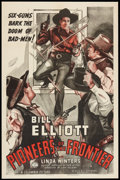 """Movie Posters:Western, Pioneers of the Frontier (Columbia, 1940). One Sheet (27"""" X 41""""). Western.. ..."""