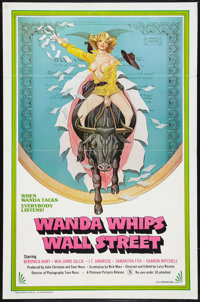 "Wanda Whips Wall Street (Platinum Pictures, 1982). One Sheet (27"" X 41""). Adult"
