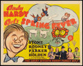 "Movie Posters:Comedy, Andy Hardy Gets Spring Fever (MGM, 1939). Half Sheet (22"" X 28"").Comedy.. ..."