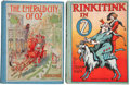 Books:First Editions, L. Frank Baum. Two Wonderful Oz First Editions, including:The Emerald City of Oz. Illustrated by John R... (Total: 2Items)