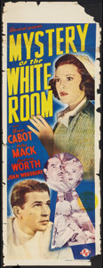 "Movie Posters:Mystery, Mystery of the White Room (Universal, 1939). Pre-War AustralianDaybill (15"" X 39.5""). Mystery.. ..."