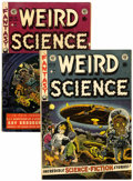 Golden Age (1938-1955):Horror, Weird Science #16 and 19 Group (EC, 1952-53).... (Total: 2 ComicBooks)