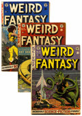 Golden Age (1938-1955):Science Fiction, Weird Fantasy #15, 18, and 21 Group (EC, 1952-53) Condition:Average VG.... (Total: 3 Comic Books)