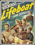 "Lifeboat (20th Century Fox, 1944). Partial Three Sheet (41"" X 54""). Hitchcock"