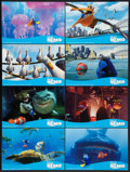 "Movie Posters:Animated, Finding Nemo (Disney, 2003). Deluxe Lobby Card Set of 8 (11"" X16.75""). Animated.. ... (Total: 8 Items)"