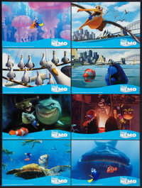 "Finding Nemo (Disney, 2003). Deluxe Lobby Card Set of 8 (11"" X 16.75""). Animated. ... (Total: 8 Items)"