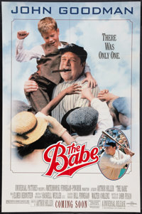 "The Babe (Universal, 1992). One Sheet (29.25"" X 44.5"") SS Advance. Sports"