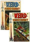 Golden Age (1938-1955):Science Fiction, Weird Science-Fantasy #23 and 24 Group (EC, 1954).... (Total: 2Comic Books)