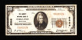 National Bank Notes:Maryland, Oakland, MD - $20 1929 Ty. 1 The Garrett NB Ch. # 6588. ...