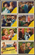 """Movie Posters:Drama, Diary of a Chambermaid (United Artists, 1946). Lobby Card Set of 8 (11"""" X 14""""). Drama.. ... (Total: 8 Items)"""