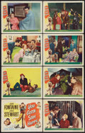 "Movie Posters:Comedy, You Gotta Stay Happy (Universal International, 1948). Lobby CardSet of 8 (11"" X 14""). Comedy.. ... (Total: 8 Items)"