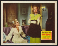 "I Wake Up Screaming (20th Century Fox, 1941). Lobby Card (11"" X 14""). Film Noir. Hot Spot was working title..."