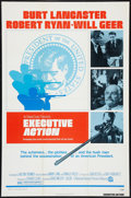"Movie Posters:Thriller, Executive Action (National General, 1973). One Sheet (27"" X 41""). Thriller.. ..."