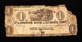 Canadian Currency: , Malbay, LC- St. Lawrence Bank & Lumber Company $1 circa 1837Ch. # 665-10-02. ...