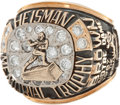 Football Collectibles:Others, 1987 Tim Brown Heisman Trophy Ring....
