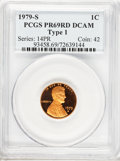 Proof Sets, 1979-S 1C Type One PR69 Deep Cameo PCGS. This set Includes:1979-S1C Type One PR69 Deep Cameo PCGS, 1979-S 5C Type One PR... (Total:6 coins)