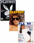 Magazines:Miscellaneous, Playboy Group (HMH Publishing, 1987-90) Condition: Average VF/NM....