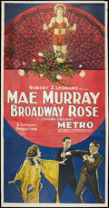 "Movie Posters:Romance, Broadway Rose (Metro, 1922). Three Sheet (41"" X 81""). Romance.. ..."
