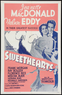 """Sweethearts Lot (MGM, R-1962). One Sheets (3) (27"""" X 41""""). Musical. ... (Total: 3 Items)"""