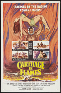 "Carthage in Flames (Columbia, 1961). One Sheet (27"" X 41""). Historical Drama"