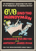 "Movie Posters:Adult, Eve and the Handyman (Pad-Ram Enterprises, 1961). One Sheet (30"" X42""). Adult.. ..."