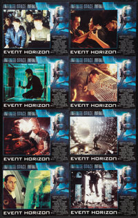 """Event Horizon (Paramount, 1997). British Lobby Card Set of 8 (11"""" X 14""""). Science Fiction. ... (Total: 8 Items..."""