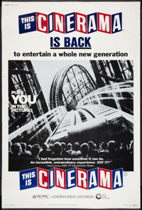 "This Is Cinerama (Cinerama Releasing, R-1973). Poster (40"" X 60""). Documentary"