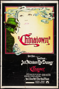 "Chinatown (Paramount, 1974). Poster (40"" X 60""). Mystery"