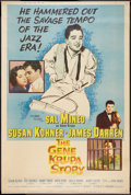 "Movie Posters:Musical, The Gene Krupa Story Lot (Columbia, 1960). Posters (2) (40"" X 60""). Musical.. ... (Total: 2 Items)"