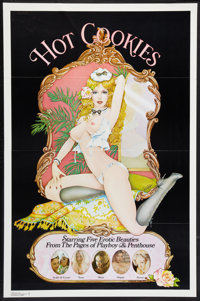 "Hot Cookies (Bloomer, 1977). Flat Folded One Sheet (27"" X 41""). Adult"