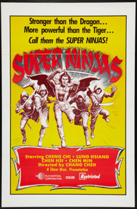 "Super Ninjas Lot (World Northal, 1983). One Sheets (5) (27"" X 41""). Action. ... (Total: 5 Items)"
