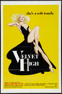 "Velvet High (Pegasus Films, 1981). One Sheet (27"" X 41""). Adult"