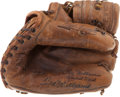 Baseball Collectibles:Others, Ted Williams Signed Vintage Store Model Mitt....