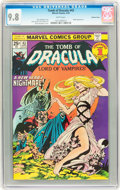 Bronze Age (1970-1979):Horror, Tomb of Dracula #43 Western Penn pedigree (Marvel, 1976) CGC NM/MT9.8 White pages....